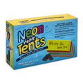 Neon Table Tent Cards, Boxed set of 5