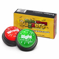 Right & Wrong Answer Buzzers NEW & Improved (set of 2)