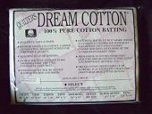Select White Dream Cotton, double