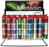 All the colors of the rainbow in a tube! - Metallic Thread Tube Sets