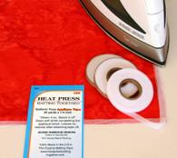 1/4 Inch Heat Press Batting Together, Applique Tape