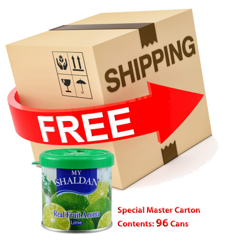 My Shaldan Lime Air Freshener with Special Master 96 pcs