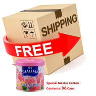 My Shaldan Peach Scent Air Freshener with Special Master 96 pcs