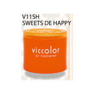 Viccolor Car Air Freshener, 30 Packs, Sweets De Happy