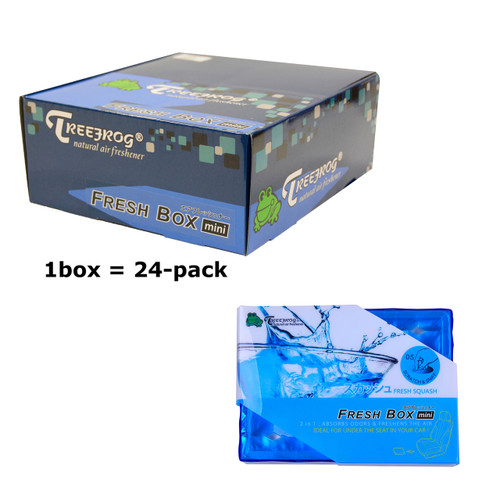 Treefrog 24 packs Fresh Box Mini Fresh Squash Scent  - YirehStore.com