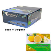 Treefrog 24 packs Fresh Box Mini Lemon Squash Scent  - YirehStore.com