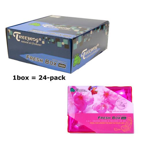 Treefrog 24 packs Fresh Box Mini Sakura Blossom / floral Scent  - YirehStore.com