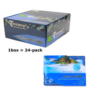 Treefrog 24 packs Fresh Box Mini Ocean Breeze Scent  - YirehStore.com