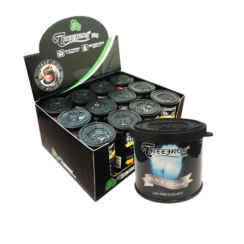 TreeFrog  Classic Black Squash Scent Air Freshener - YirehStore.com