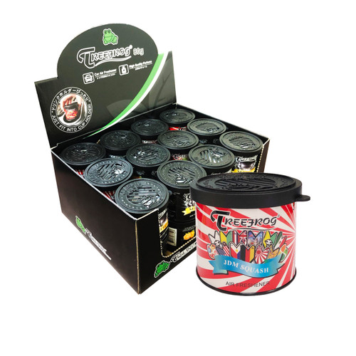 Treefrog Classic Gel Can JDM Squash Scent 24 Cans (TR21JS55)