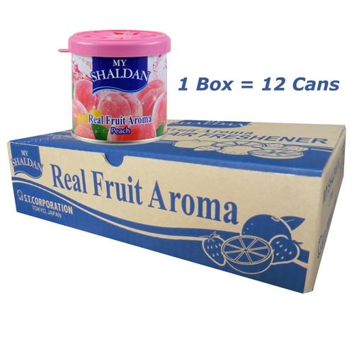 My Shaldan Peach Scent Air  Freshener 12 cans