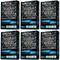 Fresh Box Charcoal Black Squash Scent 6 Packs
