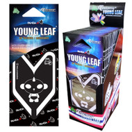 Treefrog Young Leaf Black Squash 24 Packs, Black Panda