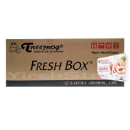 Treefrog Fresh Box White Peach Scent 48-pcs (1 Master Case)