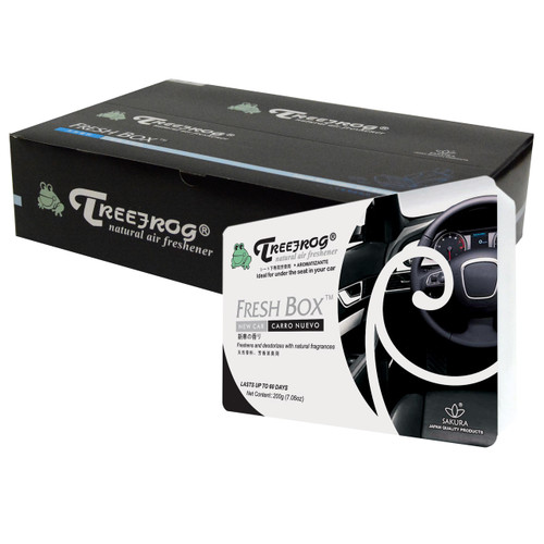 Treefrog Fresh Box New Car Scent 15 Pack - YirehStore.com