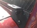 jeep jk wrangler windshield light mount powdercoat black