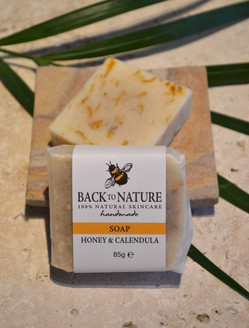 Honey & calendula soap