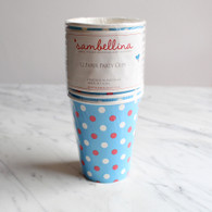 Sambellina Blue Multi Dot Cups - Pack of 12