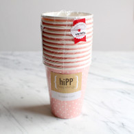 hiPP Sweet Pink Dot Cups - Pack of 12