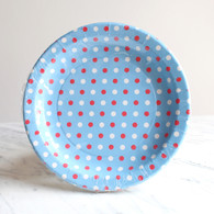 Sambellina Blue Multi Dot Plates - Pack of 12