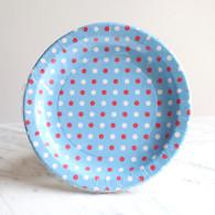 Sambellina Blue Multi Dot Plates - Pack of 12