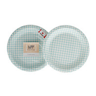 hiPP Duck Egg Blue Cake Plates - Pack of 12