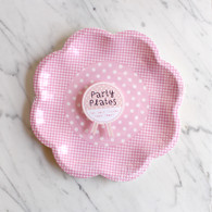 Pink n Mix 2 Design Plates - Pack of 8
