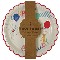 Meri Meri Toot Sweet Children Plates - Pack of 12