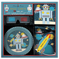 Meri Meri 3D Space Cadet Party Kit for 12 Guests