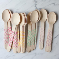 Sucre Shop Trellis Spoons - Pack of 20