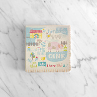 Meri Meri Happy Little Farm Cocktail Napkins - Pack of 20