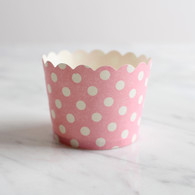 Pink Dotty Baking Cups - Pack of 25