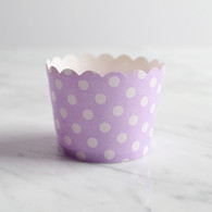 Lavender Dotty Baking Cups - Pack of 25