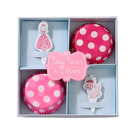 Princess Party Cupcake Cases & Toppers - Pack of 20