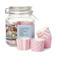 Robert Gordon Pink Patty Cups in Glass Jar - Pack of 40