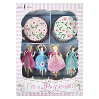 Meri Meri I'm a Princess Cupcake Kit - Pack of 24