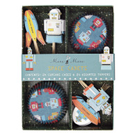 Meri Meri Space Cadet Cupcake Kit - Pack of 24