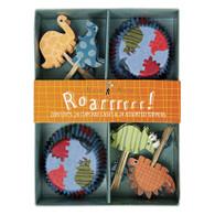 Meri Meri Roarrrr! Dinosaurs Cupcake Kit - Pack of 24
