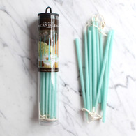 "Celebration Candles 6"" Aquamarine  - Pack of 12"