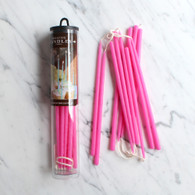 "Celebration Candles 6"" Hot Pink - Pack of 12"