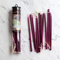 "Celebration Candles 6"" Purple Wine - Pack of 12"