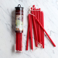 "Celebration Candles 6"" Red - Pack of 12"