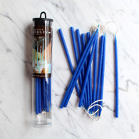 "Celebration Candles 6"" Royal Blue - Pack of 12"