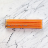 Tag USA Orange Party Taper Candles - Pack of 12