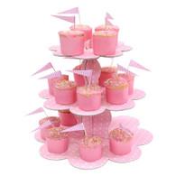 Robert Gordon Pink Cupcake Stand