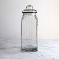 Glass Lolly Jar with Lid - 28cm High