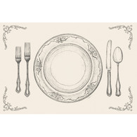 Kitchen Papers Perfect Setting Placemats - Pack of 50