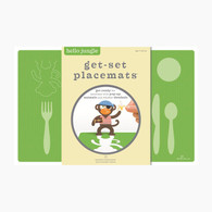 Hello Hanna Get Set Placemat, Jungle - Pack of 8