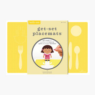 Hello Hanna Get Set Placemat, Me - Pack of 8