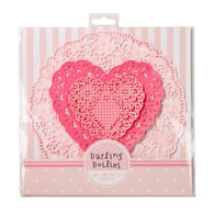 Pink n Mix 3 Designs Doilies - Pack of 30